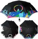 Зонты, меняющие цвет под дождем