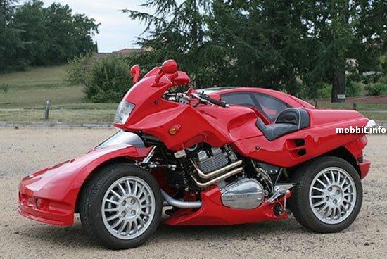 Автомобиль и мотоцикл в одном