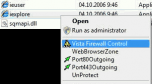 Windows 7 & Vista Firewall Control v.3.0.2