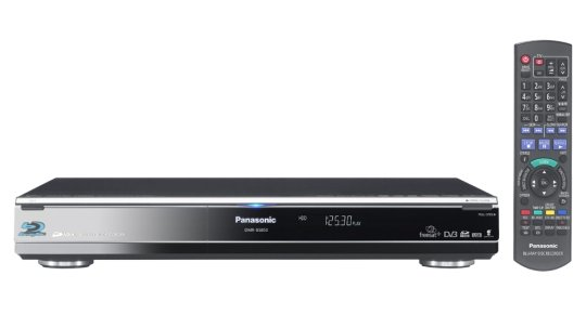 Panasonic DMR-BS850: Blu-ray рекордер, HDD и два тюнера