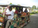 Бамбуковое такси на кокосовом масле