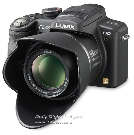 Panasonic, Lumix DMC-FZ38
