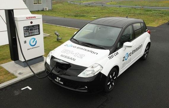Nissan, Электромобиль