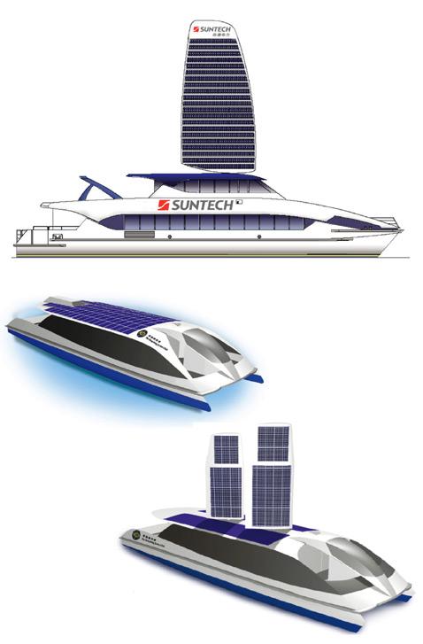 Solar Sailor, Судно