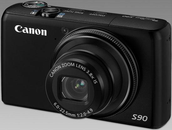Сanon, PowerShot, S90