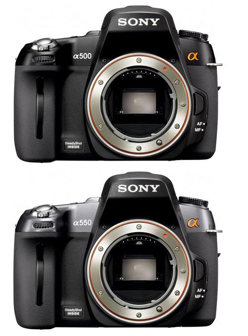 Sony, Alpha, A500, A550