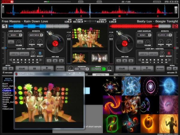 Atomix Virtual DJ Pro 6.0.2 Portable - для DJ-ев
