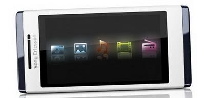 Sony Ericsson Aino и Satio c сенсорным дисплеем
