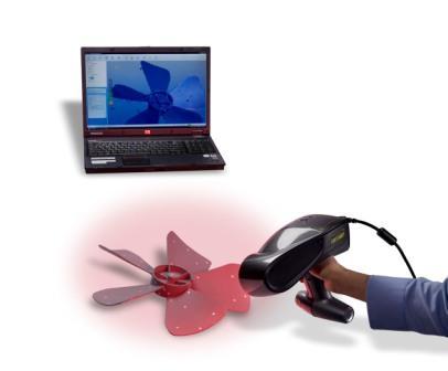 Z Corporation портативный лазерный 3D-сканер