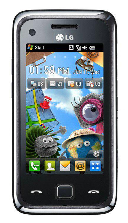 LG GM730 - новый коммуникатор на российском рынке