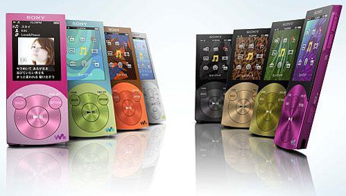 Новые плееры Sony Walkman A- и S-серии
