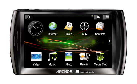 Интернет-планшет на Android - Archos 5 Internet Tablet