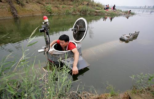 Тао Ксиангли, Подводная лодка