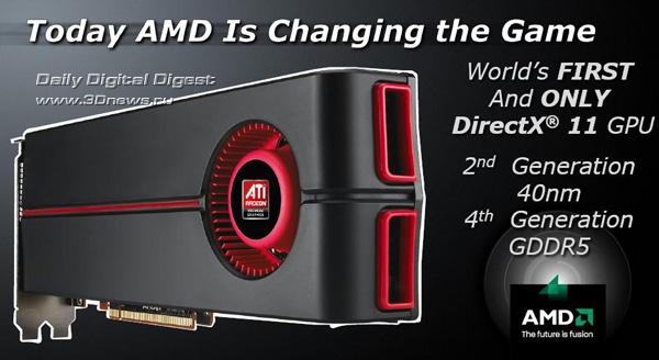 AMD, ATI Radeon, HD 5870, HD 5850