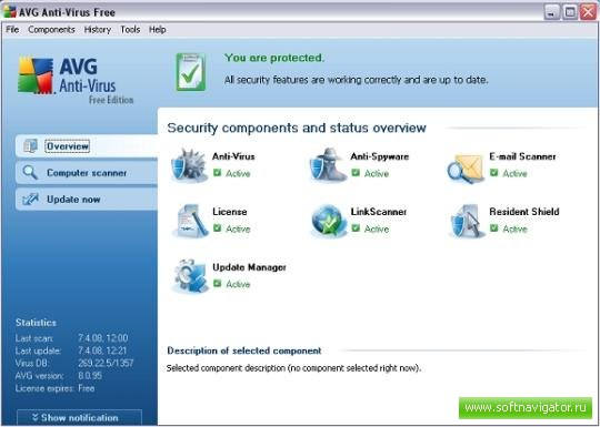 AVG Anti-Virus Free 9.0.686 Build 1719