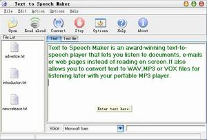 Text to Speech Maker 1.7.3 - слушаем текст