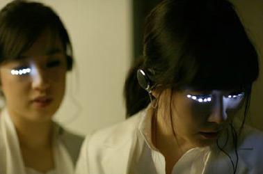 LED-ресницы - плод современной моды