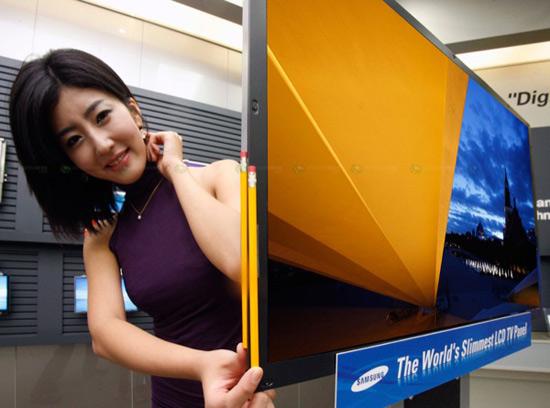 Самый тонкий в мире 40 телевизор от Samsung