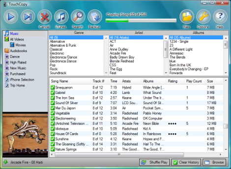 Wide Angle Software TouchCopy 09 v9.33