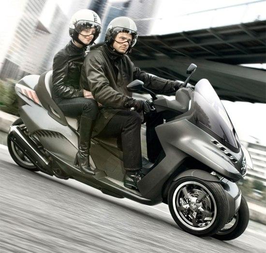 Peugeot, HYbrid 3 Evolution