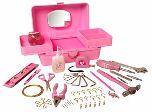Розовый набор инструментов для девушек