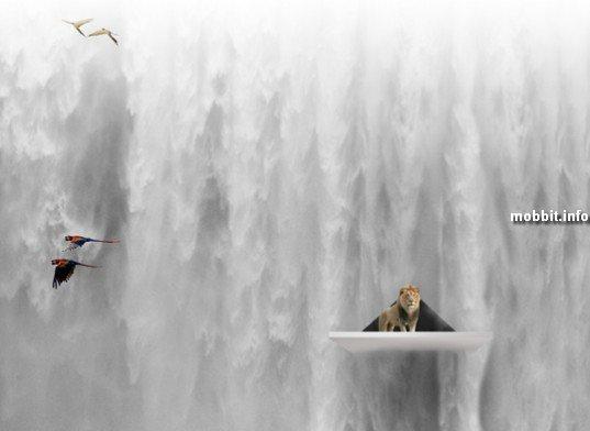 Эдемский водопад