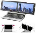 Двухдисплейный ноутбук поступил в продажу