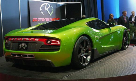 Revenge, Verde Supercar