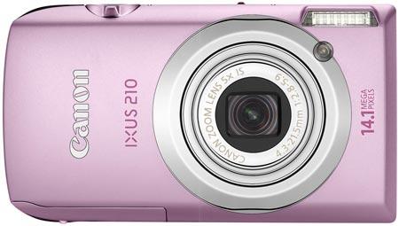 Камера Canon IXUS 210 получила сенсорный дисплей