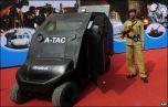 Индийский электрический броневик
