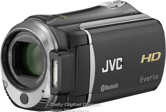 HD-камера JVC Everio GZ-HM550