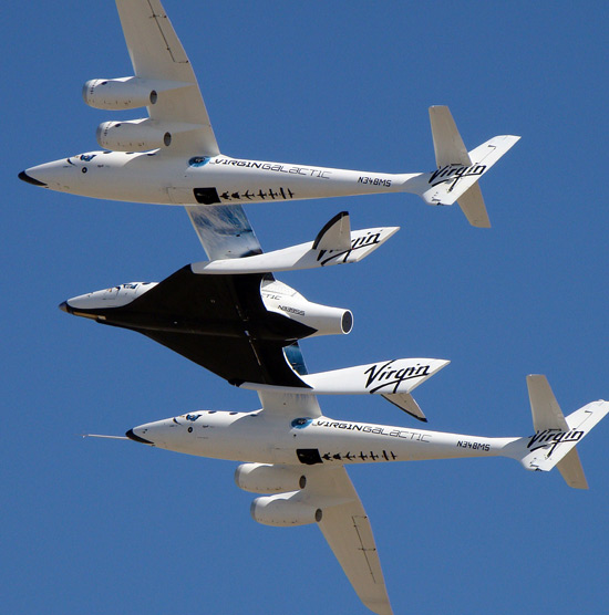 Virgin Galactic, VSS Enterprise