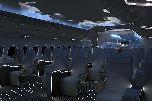 Шикарный интерьер для самолета BMW A350