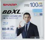 Sharp начинает продажи 128 ГБ Blu-Ray BDXL дисков