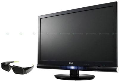 LG начинает продажи 3D монитора W2363D