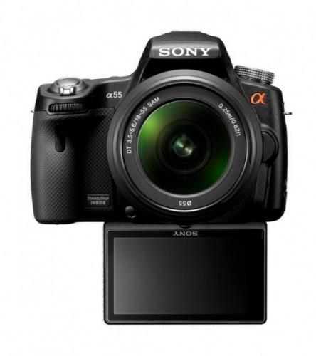 Sony, A33, A55