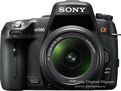 Sony, Alpha, A560, А580