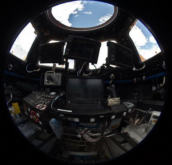 МКС, Земля, Фото