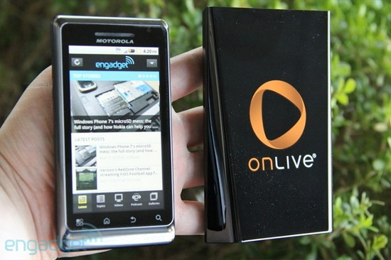 OnLive, MicroConsole