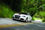Роботизированная Audi TTS против горного серпантина