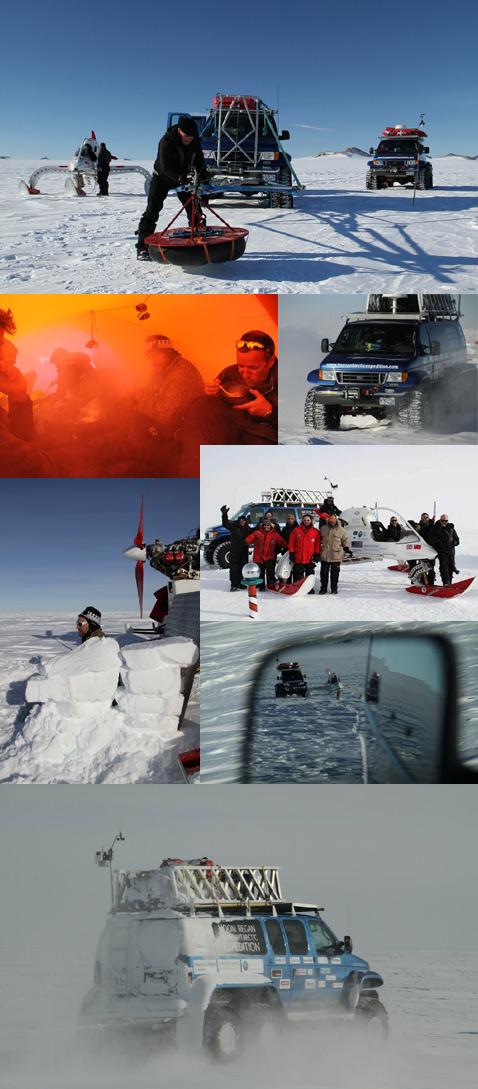 Антарктида, Экспедиция