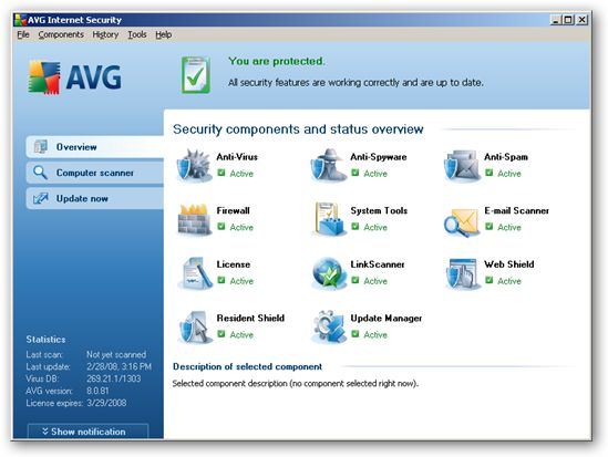 AVG Internet Security 2011 10.0.1204 Build 3402