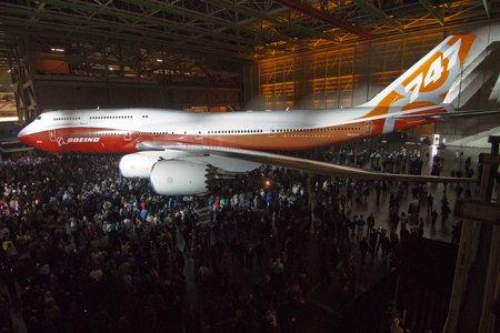 Боинг, Boeing, 747-8 Intercontinental