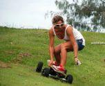 Электрический скейт вездеход Fiik