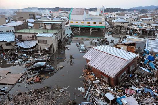 Япония, Землетрясение, Индустрия