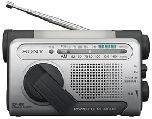 Радио Sony ICF-B01 с ручной подзарядкой