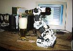 Робот бармен Robotis