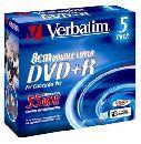 Двухслойные Mini DVD+R диски от Verbatim