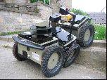 Шестиколесный робот, работающий на real-time Linux