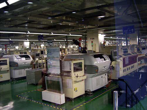 Экскурсия на фабрику Gigabyte